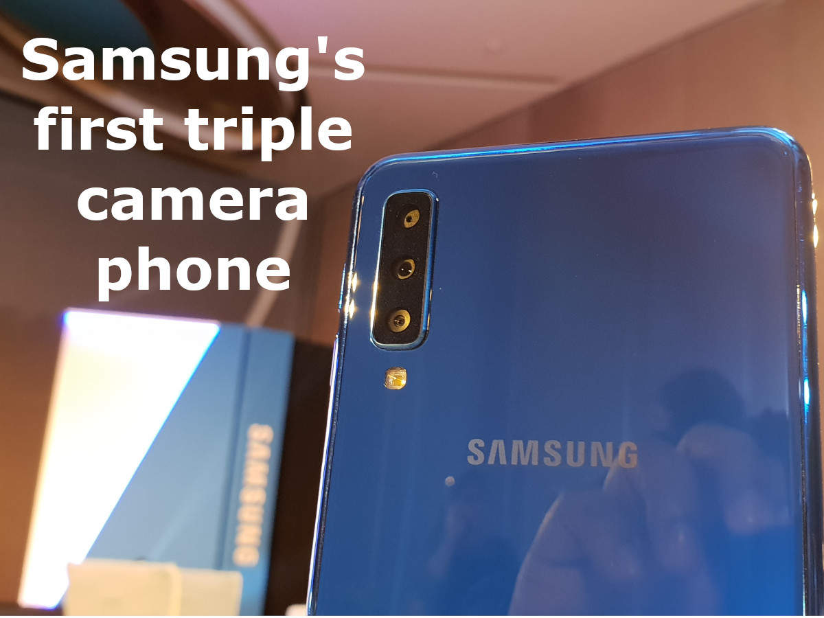 brand new d5ebe 2ecb5 Samsung Galaxy A7 (2018) First Look video