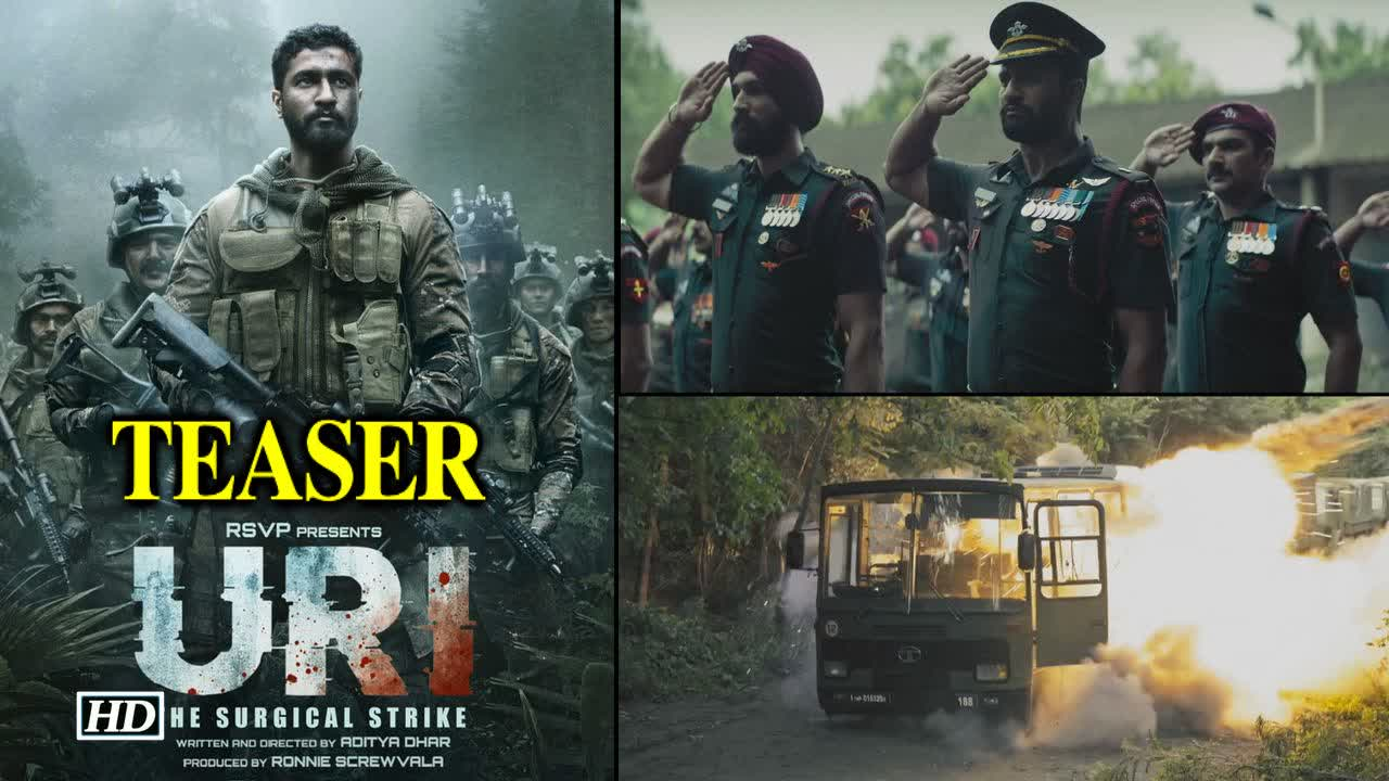 'Uri' teaser:  Vicky Kaushal brings the surgical strike to life