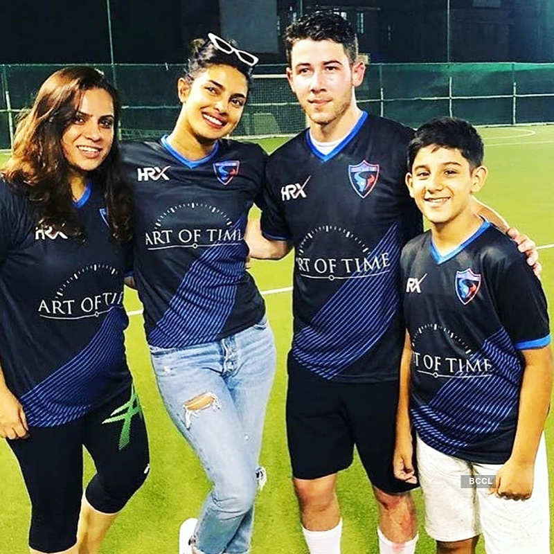 Pictures of Priyanka Chopra and Nick Jonas's new family member go viral...