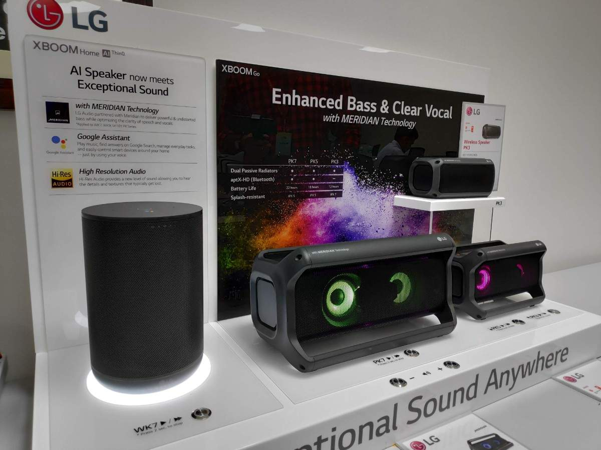 Lg Launches New Range Of Ai Enabled Speakers Price Starts From Rs Speaker Bluetooth Vivo V9 Ori 10990 Gadgets News Now