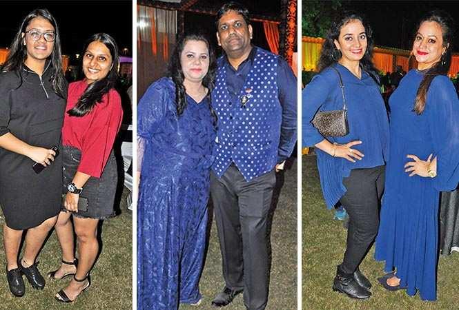 (L) Shubhangi and Aditi (C) Tanu and Amit (R) Suvidha and Shalu (BCCL/ AS Rathor)