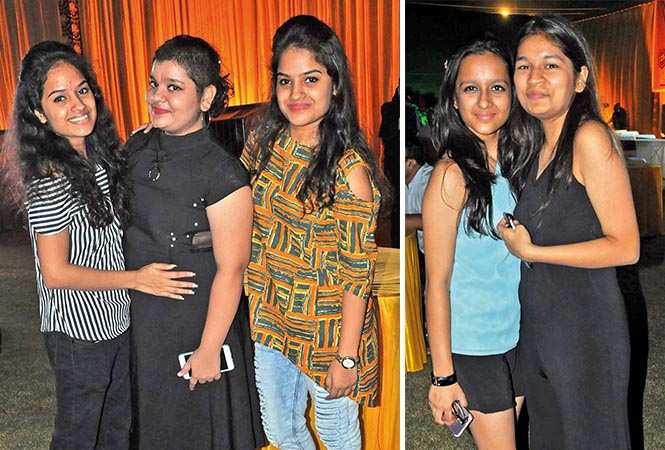 (L) Khushi, Shraddha and Bhavna (R) Manika and Ishita (BCCL/ AS Rathor)