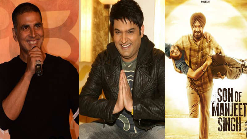 Akshay Kumar wishes friend Kapil Sharma for his comeback production