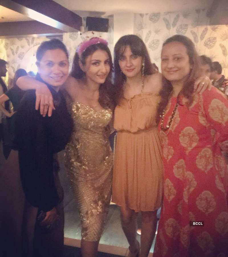 Soha Ali Khan reveals the 'best present ever' as she rings in her birthday