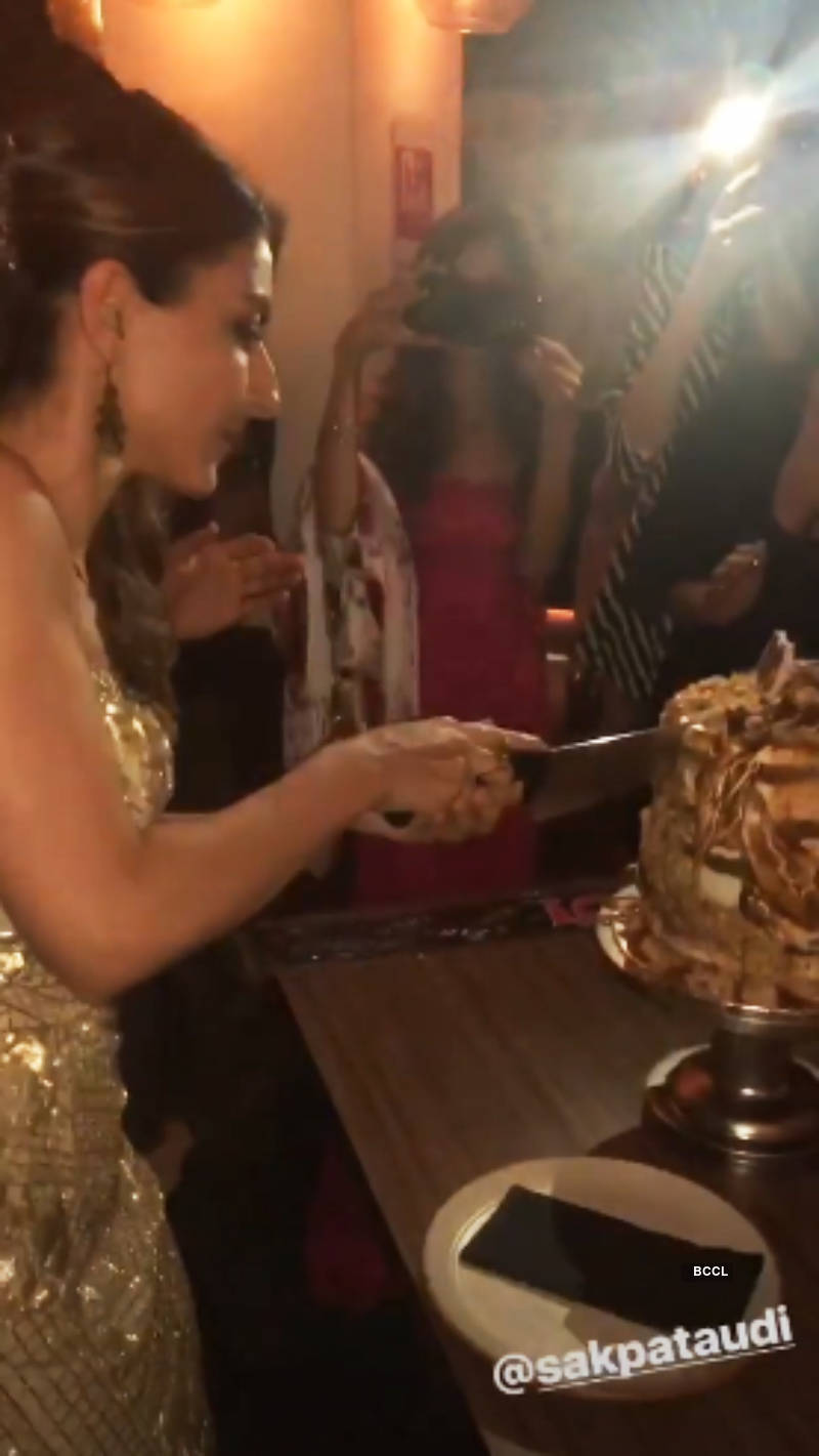 Soha Ali Khan rings in her birthday with hubby Kunal Kemmu and close friends