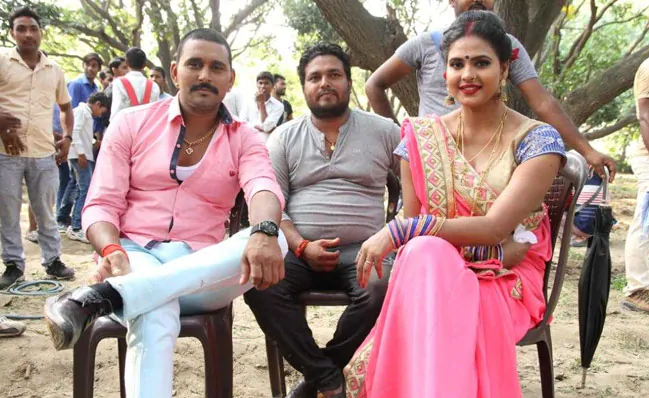 Picture: Bhojpuri actress Chandni Singh starts shooting for