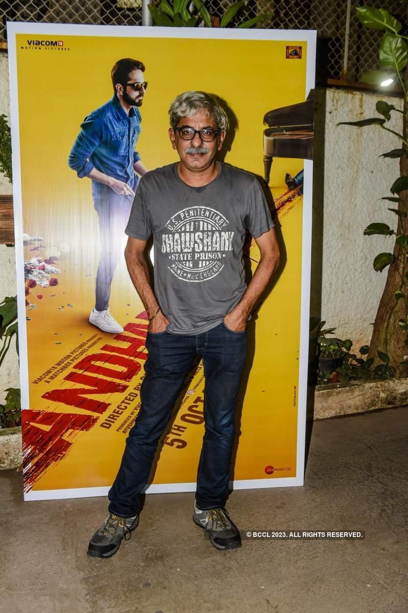 Andhadhun: Screening