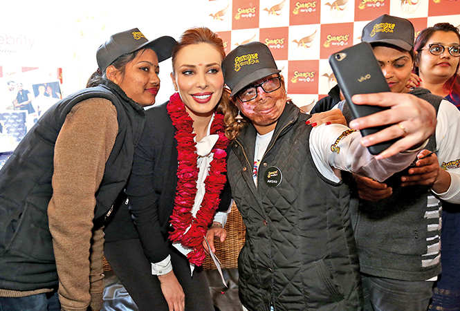 Romanian TV host-singer Iulia Vantur's itinerary when in the city last year, included a visit to the cafe (BCCL)
