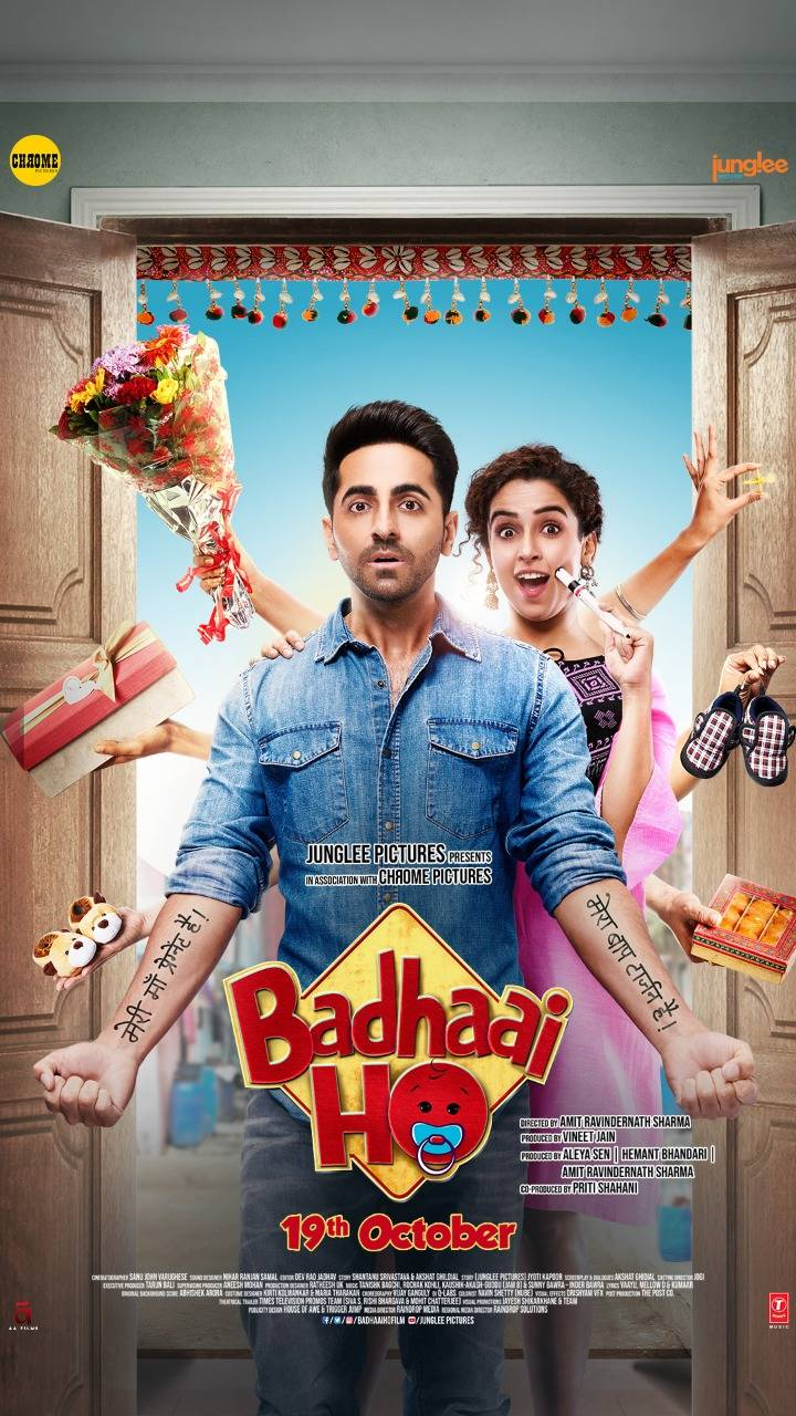 Image result for Badhai Ho India poster