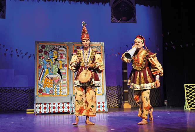 A scene from the play (BCCL/ Farhan Ahmad Siddiqui)