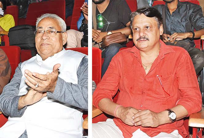 (L) Nanak Chand Lakhmani (R) Neeraj Sood (BCCL/ Farhan Ahmad Siddiqui)