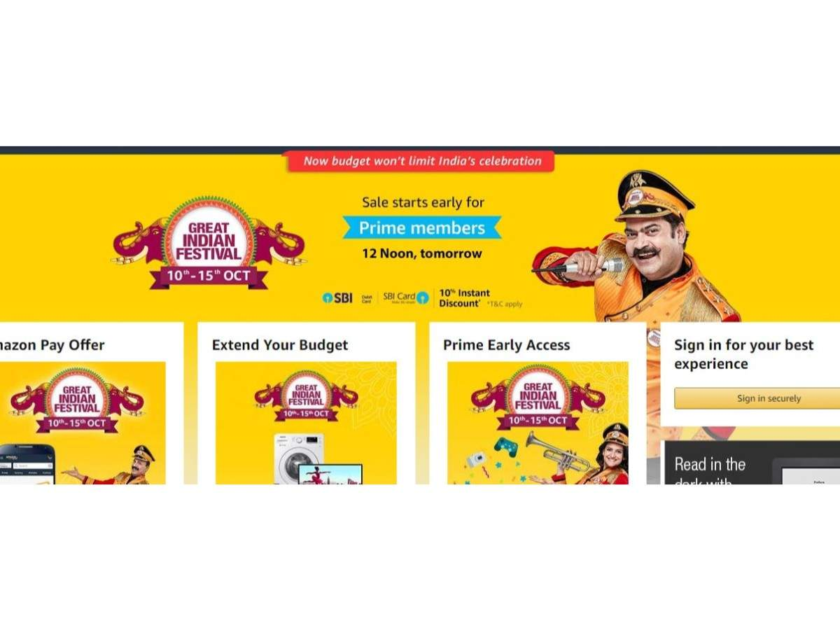 Amazon Great Indian Festival sale starts October 10: Tips to get the best deals