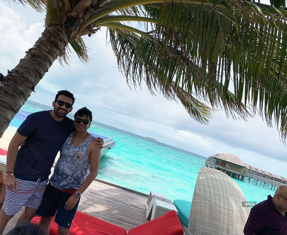 Pictures of celebs and their favourite holiday spots