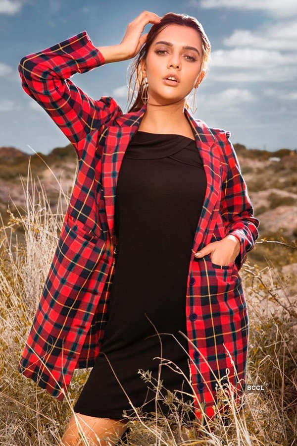 Ruhi Singh campaigns for Femina Flaunt
