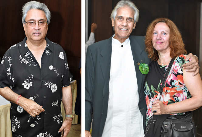 (L) Kush Bhargava (R) Noel Peters and Sally (BCCL/ Farhan Ahmad Siddiqui)