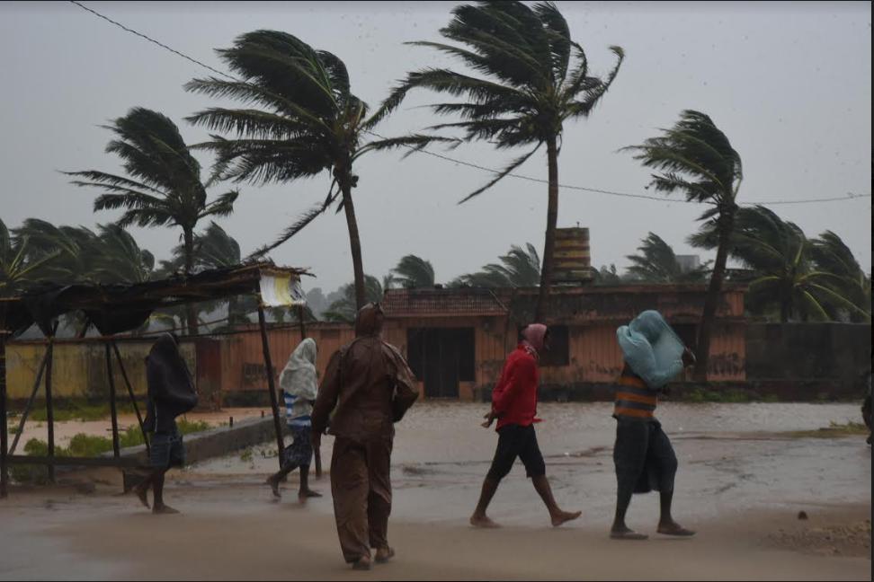 Live: Cyclone Titli makes landfall in Odisha