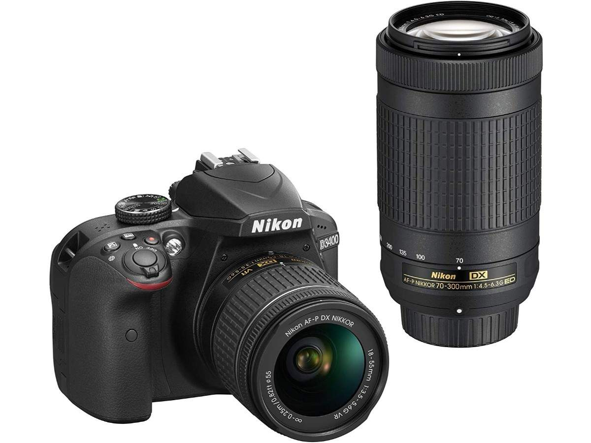 Nikon D3400 Digital Camera Kit: Available at Rs 32,990 (after a discount of Rs 14,460)