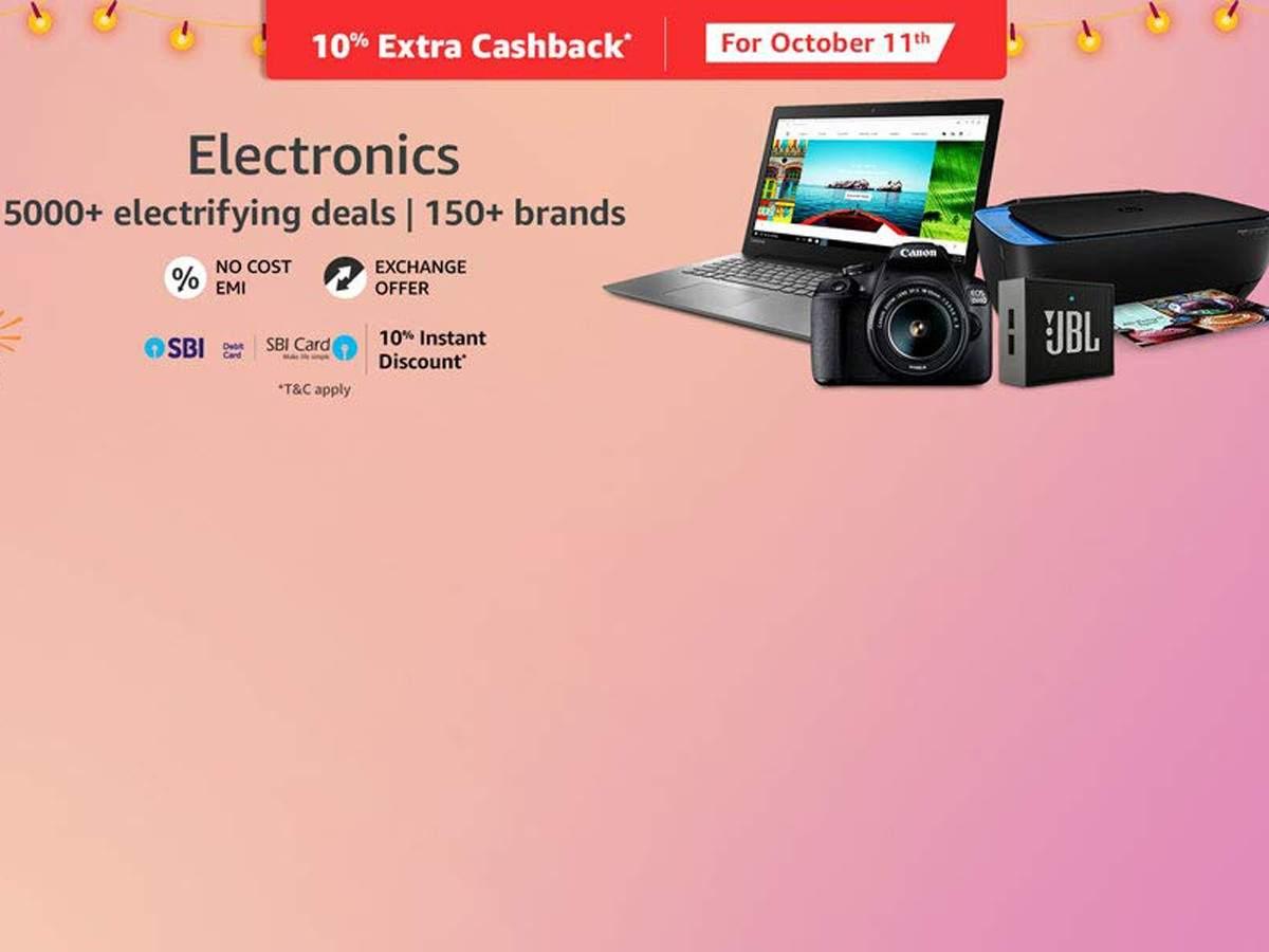 Amazon Great Indian Festival sale day 2: Best deals on speakers, headphones, smartphones and more
