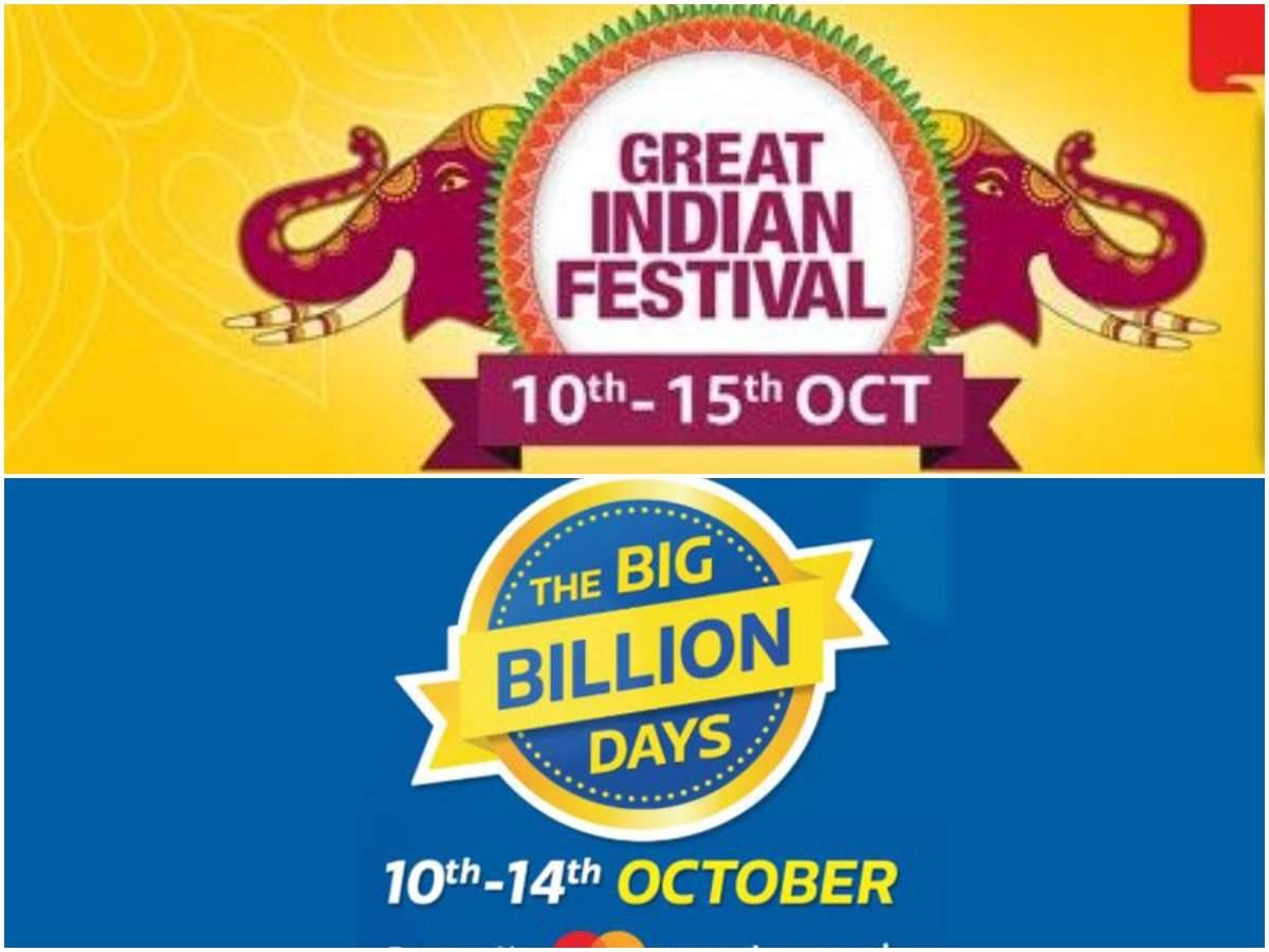 Amazon Great Indian Festival sale vs Flipkart Big Billion Days sale: Best deals on Apple, Samsung, Xiaomi, Google smartphones | Gadgets Now