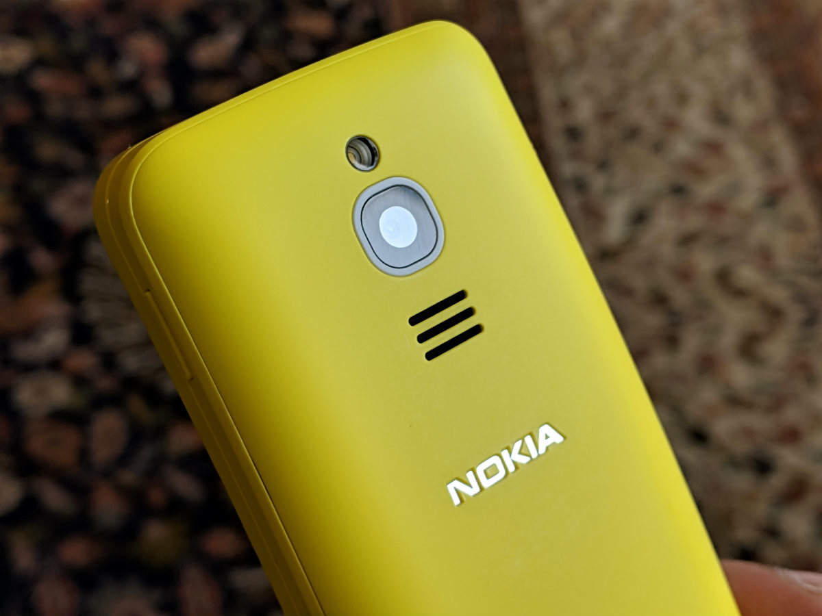 Nokia 8110 4G 'Banana Phone': Quick look | Gadgets Now