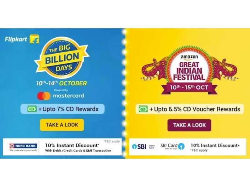 Amazon Great Indian Festival sale vs Flipkart Big Billion Days sale: Top speakers, headphones under Rs 500