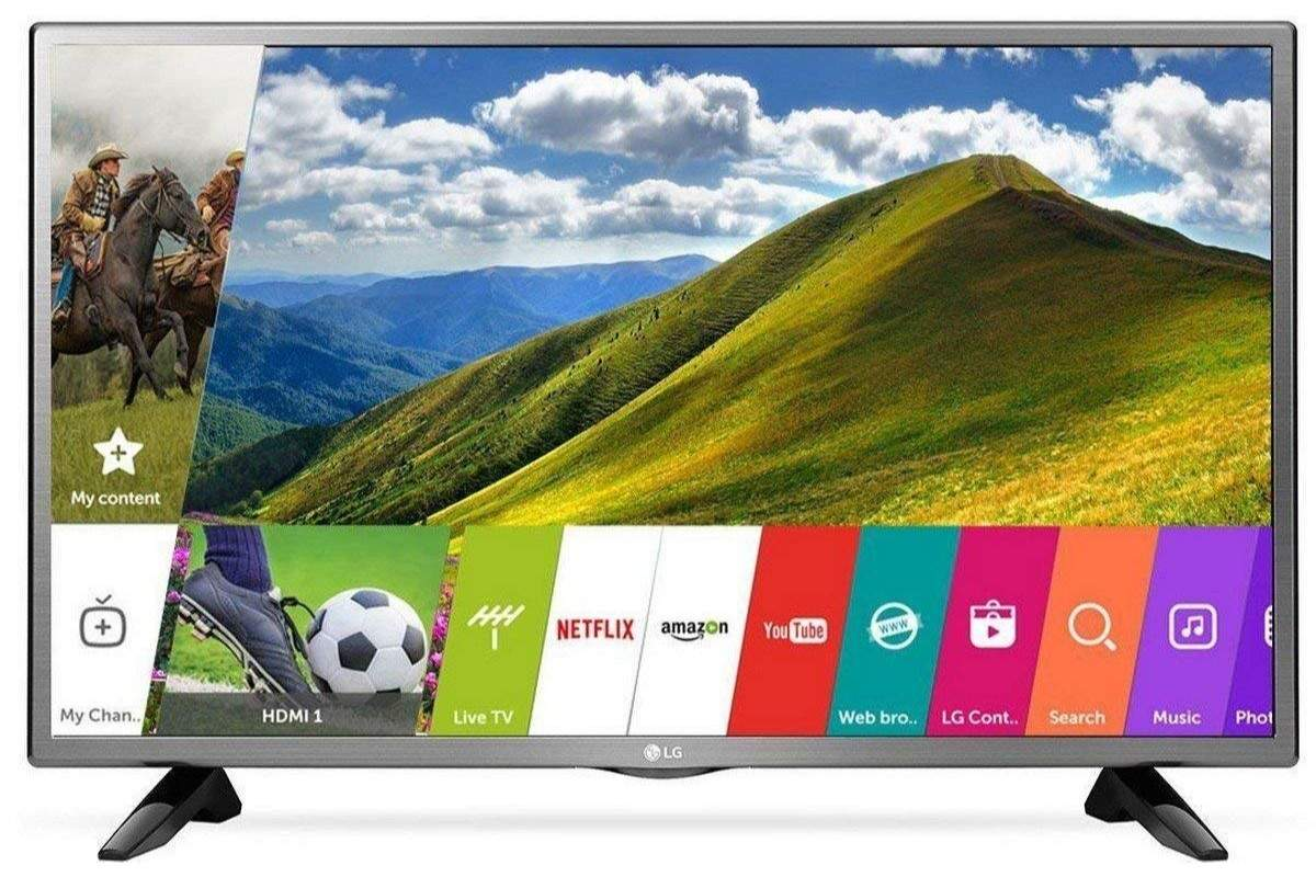 LG 32-inches HD Ready Smart LED TV 32LJ573D: Available on Amazon at Rs 20,490 after a discount of Rs 10,500
