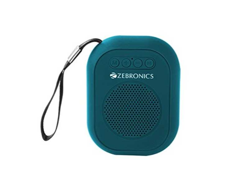Zebronics ZEB-SAGA Bluetooth wireless speaker: Available on Amazon at Rs 500 after a discount of Rs 100