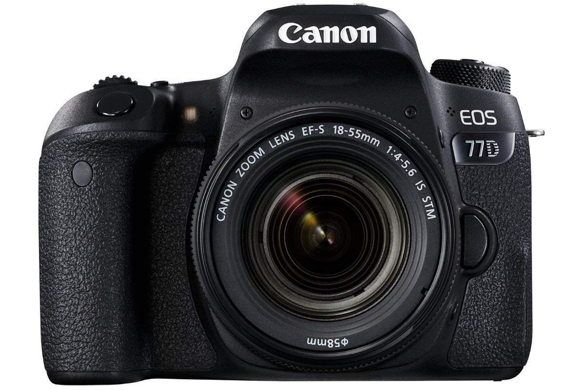 Canon EOS 77D 24.2MP Digital SLR Camera: Available at Rs 71,990 after Rs 22,005 discount