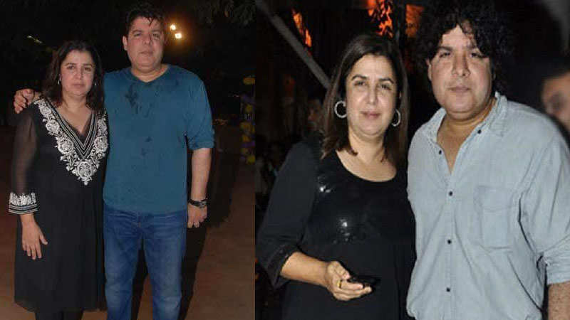 Farah Khan reacts to the allegations against brother Sajid Khan