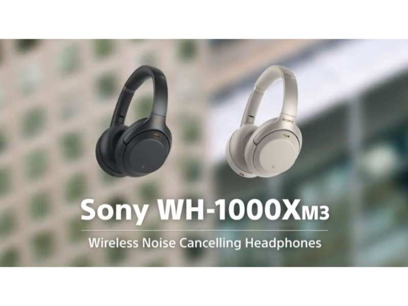 Sony launched WH-1000XM3 noise cancelling headphones at Rs 29,990