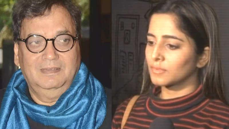 #MeToo movement: TV actress Kate Sharma files complaint against Subhash Ghai