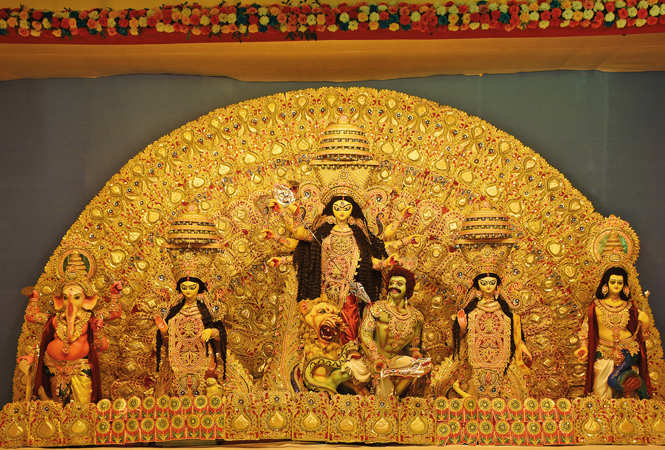 durga puja: Lucknowites gear up for Durga Puja celebrations - Times