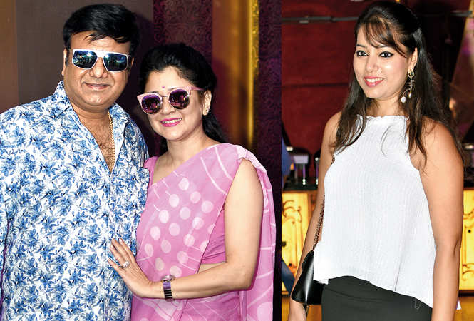 Devesh and Shilpa Mehrotra  (R) and Namrata (BCCL/  Farhan Ahmad Siddiqui)
