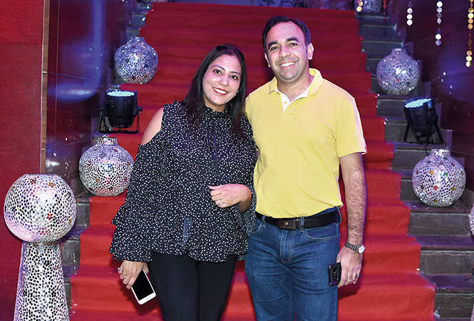 Kanika and Mandeep Bajaj  (BCCL/  Farhan Ahmad Siddiqui)