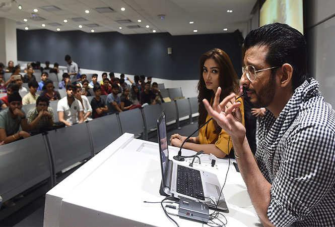 Sharman Joshi and Aishwarya Devan