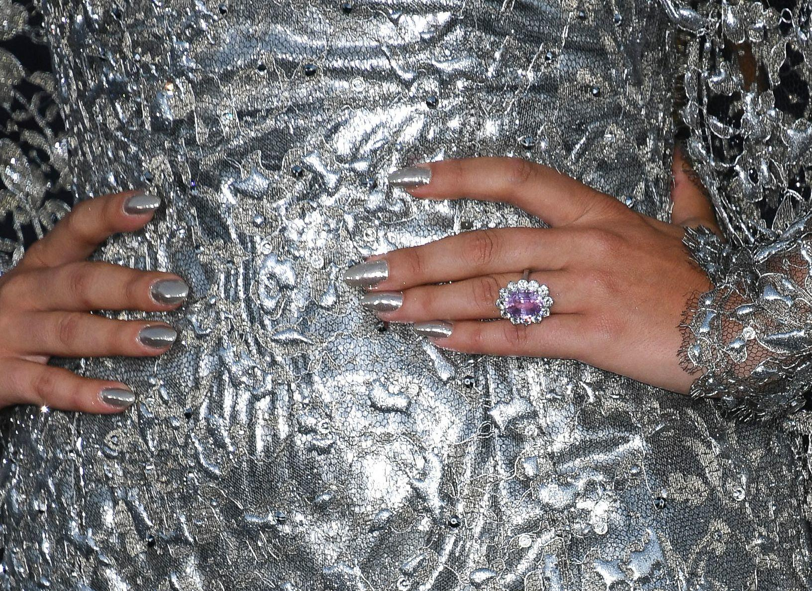 WOAH! This is how much Lady Gaga's 'pink sapphire' engagement ring costs...