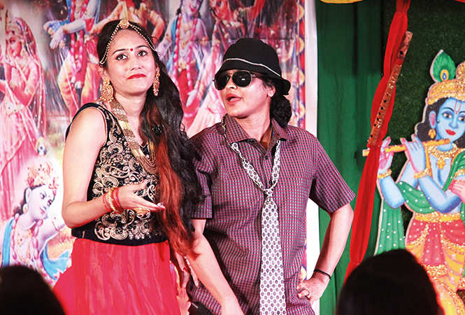 Poonam and Muskan (BCCL/ Arvind Kumar)