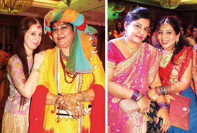 (L) Riya and Manisha (R) Anamita and Soni (BCCL/ Arvind Kumar)