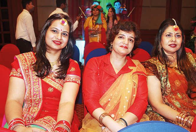 (L-R) Sakshi, Paro and Ritu Kapur (BCCL/ Arvind Kumar)