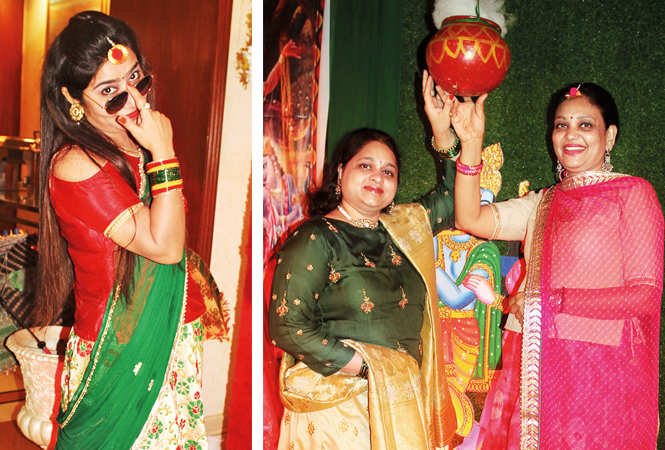 (L) Sanjana (R) Anika and Anju (BCCL/ Arvind Kumar)