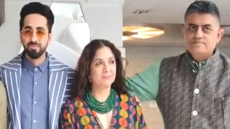 #MeToo movement: Ayushmann Khurrana, Neena Gupta share their opinion