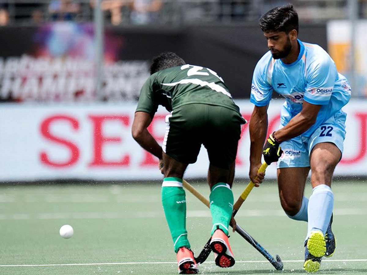 ACT Hockey Live Score: India 3 - 1 Pakistan