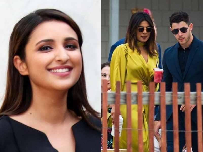 Priyanka Chopra Nick Jonas Wedding Parineeti Chopra Says She Is
