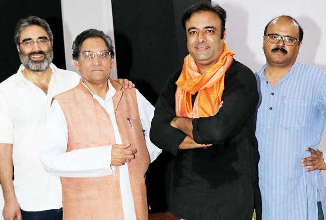 (L-R) Abdul Latif Khatana, Ram Dayal Sharma, Ramji Bali and Avinash Pillai (BCCL/ Unmesh Pandey)