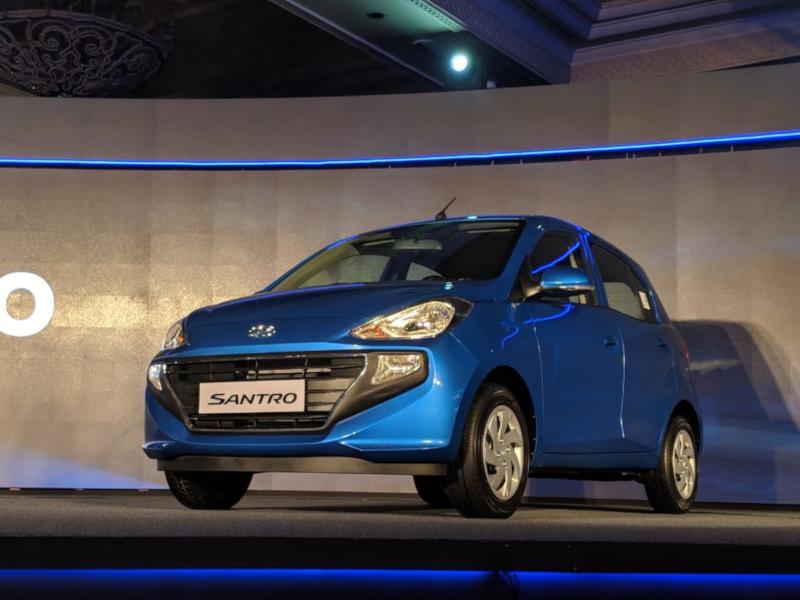 Hyundai Santro Makes A Comeback Launched At Rs 3 9 Lakhs The