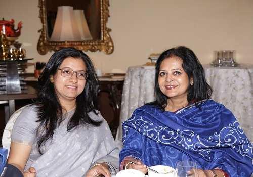 Dona Ganguly and Gouri Basu
