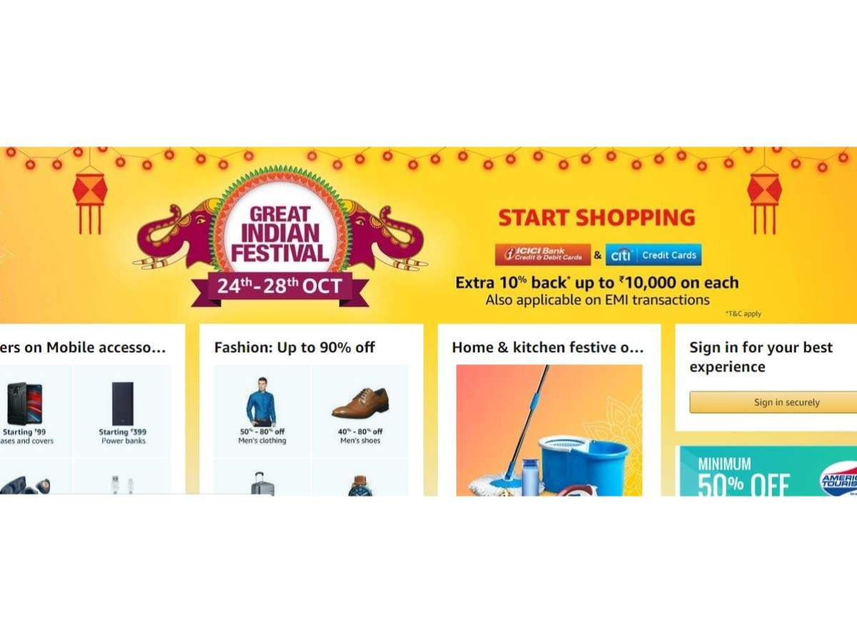 Amazon Great Indian Festival Sale Day 2: 10 best deals to look out