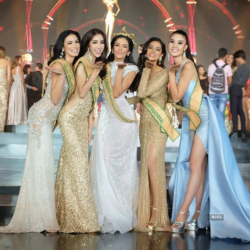 Meenakshi Chaudhary crowned first runner-up at Miss Grand International 2018