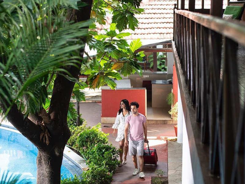Photos: Rajkummar Rao and girlfriend Patralekhaa set out on a romantic weekend getaway in Goa