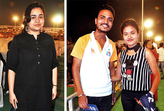 (L) Parisha (R) Rahul and Deepali (BCCL/ AS Rathor)